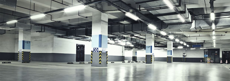 LED armaturer med lang levetid til industri og lager
