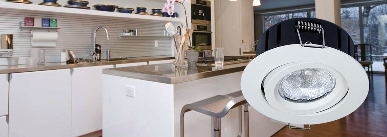 LED downlights i nyeste teknologi og højeste kvalitet - perfekt til bolig, kontor og butik