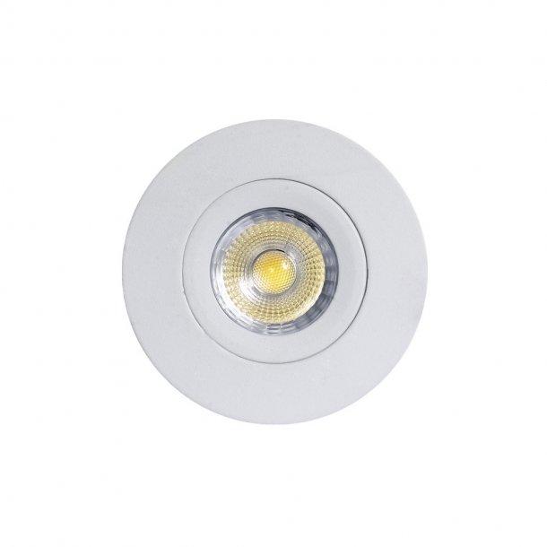 TELLA ISO360 Flush DL 6W/830, hvid (OEM)